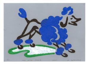 The Blue Poodle
